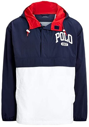 Polo Ralph Lauren Color-Blocked Graphic Pullover (Multi) Men's Clothing