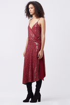 Diane von Furstenberg Brenndah Embellished Slip Dress