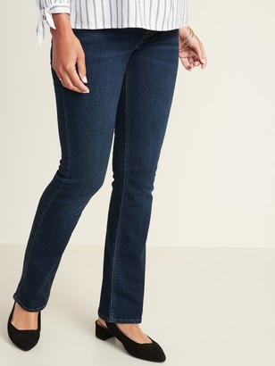 Old Navy Maternity Front-Low Panel Boot-Cut Jeans