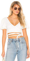 Lovers + Friends Keira Wrap Top