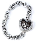 Game Time NFL Women's FH-OAK Heart Collection Oakland Raiders Watch