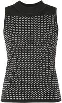 Rag & Bone high neck knitted tank - women - Nylon/Rayon - S