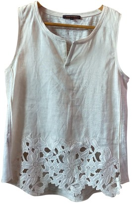 Adolfo Dominguez Ecru Linen Top for Women