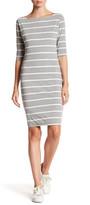 Lucy-Love Lucy Love Stripe Knit Dress