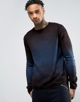 Religion Knitted Fade Out Jumper