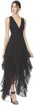 Alice + Olivia Brynn Ruffle Gown