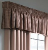 """1 X 18"""" L x 45"""" W Tan Lincolnshire Tailored Valance (one panel)"""