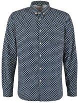 Knowledge Cotton Apparel Slim Fit Shirt Total Eclipse