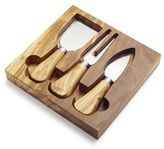 Sur La Table Olivewood Cheese Knife Set
