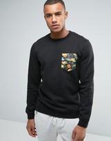 Volcom Mocket II Printed Pocket Crew Sweater