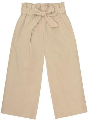 BRUNELLO CUCINELLI KIDS Cotton-poplin pants