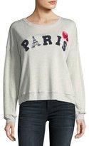 Rails Kelli Paris Cotton Pullover Sweatshirt