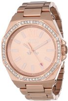 Juicy Couture Women's 1901045 Chelsea Rose Gold Plated Bracelet Watch