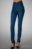 ACNE ACTION JEANS High-Waisted Needle Jean in Soul Blue