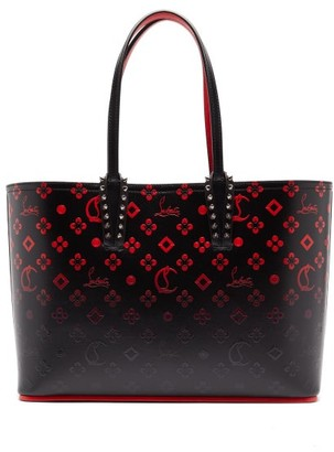 Christian Louboutin Cabata Small Logo-print Tote Bag - Womens - Black Multi