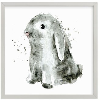 Pottery Barn Kids Bunny 1 Wall Art by Minted