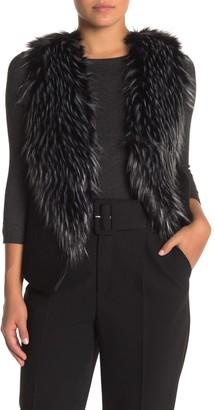 Love Token Faux Fur & Faux Suede Vest