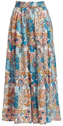 Dodo Bar Or Marina Floral A-line Skirt