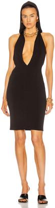 LaQuan Smith for FWRD Hood Midi Dress in Black | FWRD