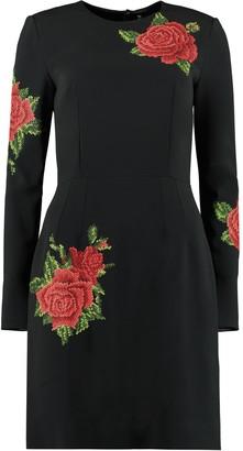 Dolce & Gabbana Embroidered Mini Dress