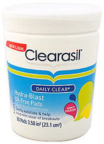 Clearasil Daily Clear Hydra-Blast Oil-Free Pads 90 Pc Skincare