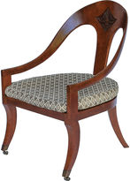 One Kings Lane Vintage Neoclassical-Style Spoon-Back Chair