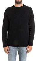 Diesel Men's Black Polyester Sweater.