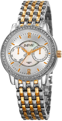 August Steiner Women's Alloy Diamond Watch