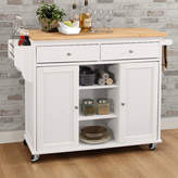 Asstd National Brand Tullarick Wood-Top Kitchen Island