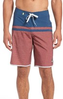 Quiksilver 'Stomp Remix Vee' Scalloped Board Shorts