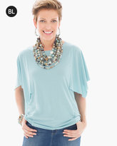 Chico's Flutter-Sleeve Top