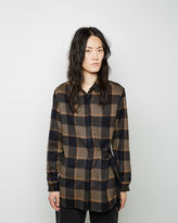 3.1 Phillip Lim Belted Flannel Shirt