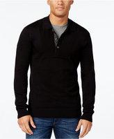 Sean John Men's Polo Knit Sweater