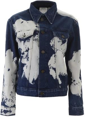 Calvin Klein Bleached Denim Jacket
