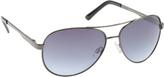 UNIONBAY Men's U937 Mirrored Aviator Sunglasses
