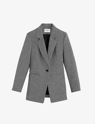 Claudie Pierlot Vitaliee single-breasted slim-fit woven blazer