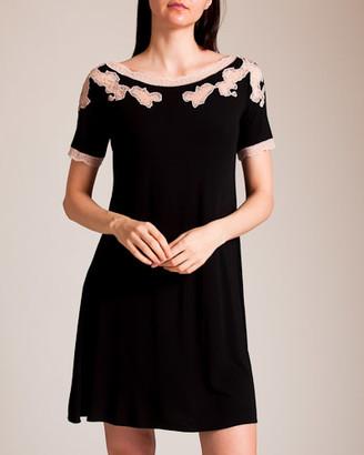 Paladini Pizzo Frastaglio Poland Short Gown