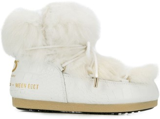 Moon Boot Chunky Fur Boots
