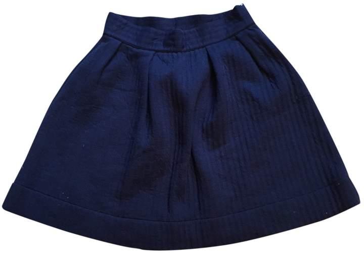 Petit Bateau \N Navy Cotton Skirt for Women