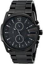 Diesel Men's DZ4180 Master Chief Black Ip Watch
