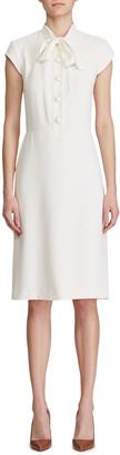 Ralph Lauren Carlisle Cap-Sleeve Shirtdress