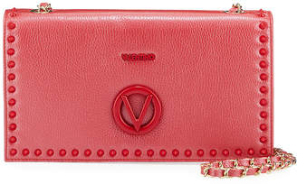 Mario Valentino Valentino By Lena Studded Leather Shoulder Bag