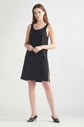 Thakoon Tank Dress With Side Slits Black