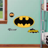 Fathead Junior Batman Logo Wall Decal