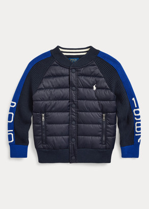 Ralph Lauren Hybrid Snap-Front Sweater