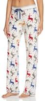 PJ Salvage Reindeer Velour Thermal Pajama Pants