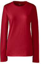 Classic Women's Relaxed Supima Crewneck T-shirt Cherry