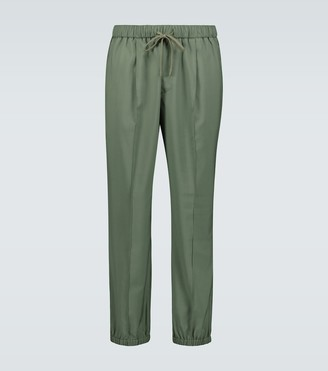 Barena Scaleter wool elasticated pants
