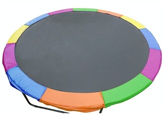 Kahuna Rainbow 12ft Replacement Reinforced Outdoor Round Trampoline Spring Pad