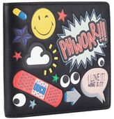 Anya Hindmarch All Over Wink Stickers Wallet